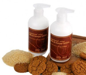 Bella Lucce Gingerbread Creme Silk & Honey Lotion