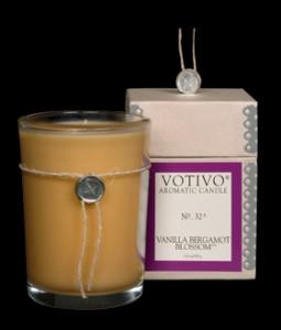 Votivo Vanilla Bergamot Blossom Candle